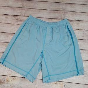 Lululemon blue gym shorts